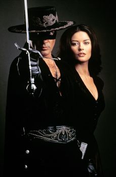Die Maske des Zorro - Alejandro (Antonio Banderas, l.) kämpft gegen das Unrec...