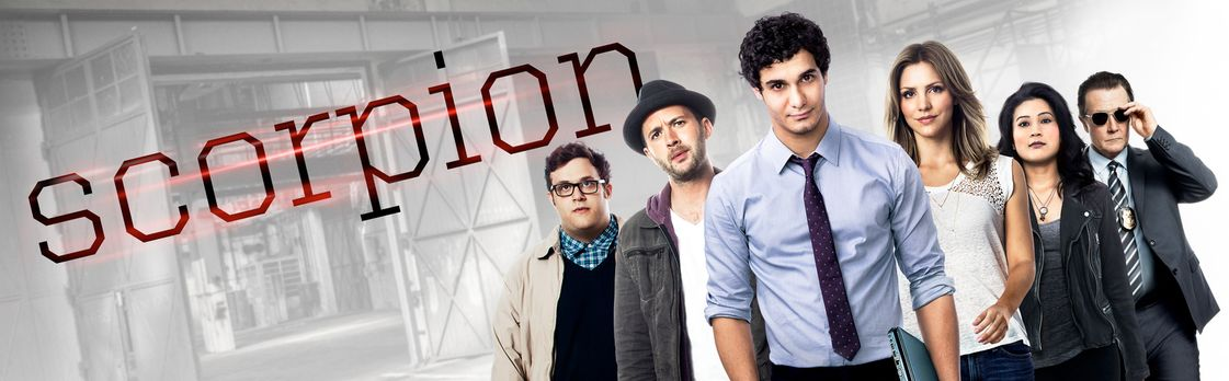 Scorpion - (2. Staffel) - scorpion - Plakat - Bildquelle: Sonja Flemming 2014...