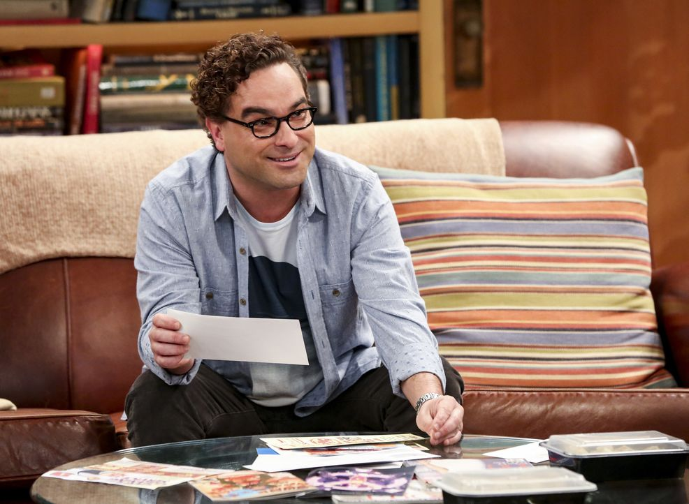 Leonard (Johnny Galecki) - Bildquelle: Michael Yarish Warner Bros./Michael Yarish