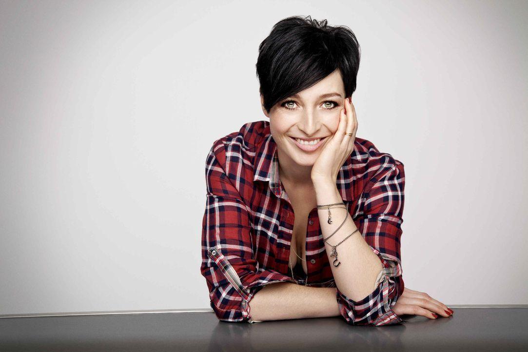 Kathy Weber präsentiert das 'K1 Magazin'. - Bildquelle: Bernd Jaworek kabel eins