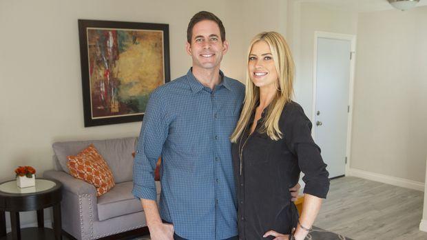 In La Habra wollen Tarek (l.) und Christina (r.) das nächste Haus kaufen, um...