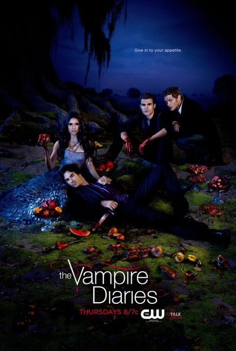 (3. Staffel) - Vampire Diaries - Artwork - Bildquelle: Warner Brothers