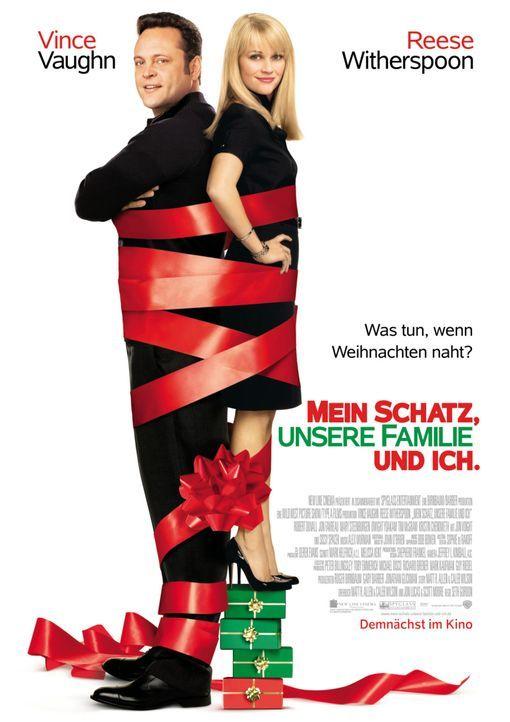 Was tun, wenn Weihnachten naht? Kate (Reese Witherspoon, r.) und Brad (Vince Vaughn, l.) haben einen Plan, doch der wird durchkreuzt und somit erleb... - Bildquelle: Warner Brothers