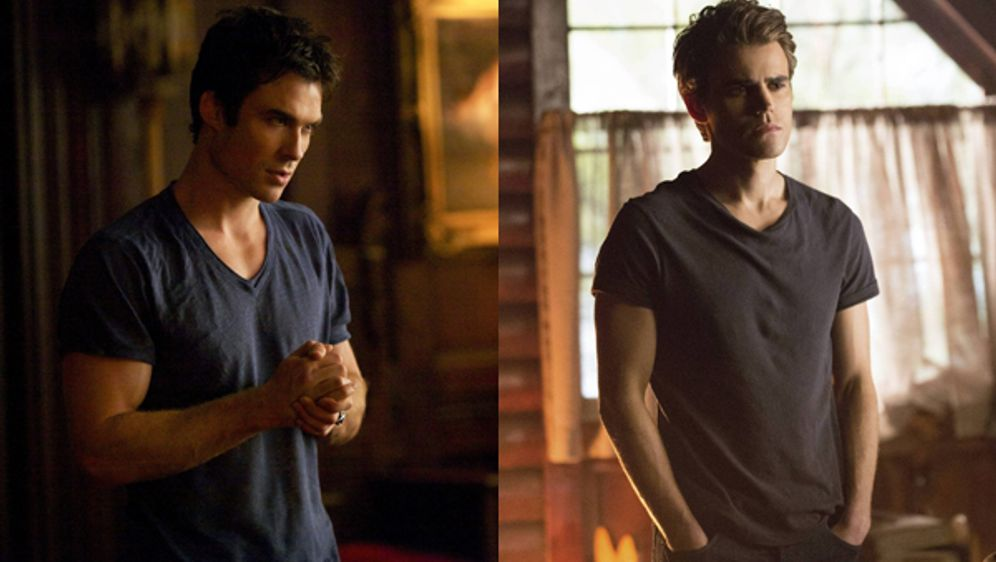 Damon oder Stefan? - Bildquelle: Warner Bros. Entertainment Inc.