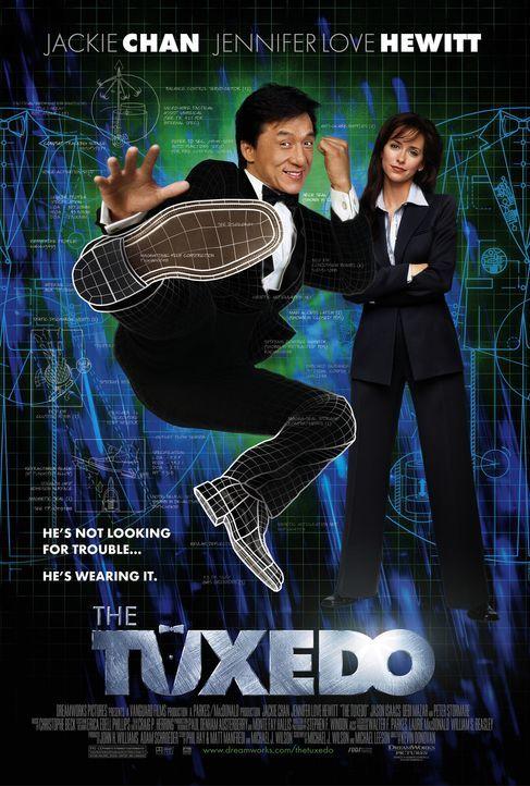 The Tuxedo - Gefahr im Anzug - mit Jackie Chan, l. und Jennifer Love Hewitt, r. - Bildquelle: TM &   2002 DreamWorks LLC. All Rights Reserved