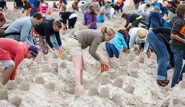 Sandburgen bauen - Bildquelle: kabel eins/  Morris Mac