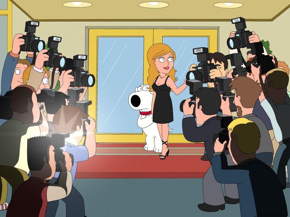 """Brian (M.l.) ist überglücklich mit Lauren Conrad (M.r.), der  attraktiven Hauptdarstellerin der Serie """"The Hills"""" - doch das Glück währt nicht lang... - Bildquelle: 2006-2007 Twentieth Century Fox Film Corporation. All rights reserved."""
