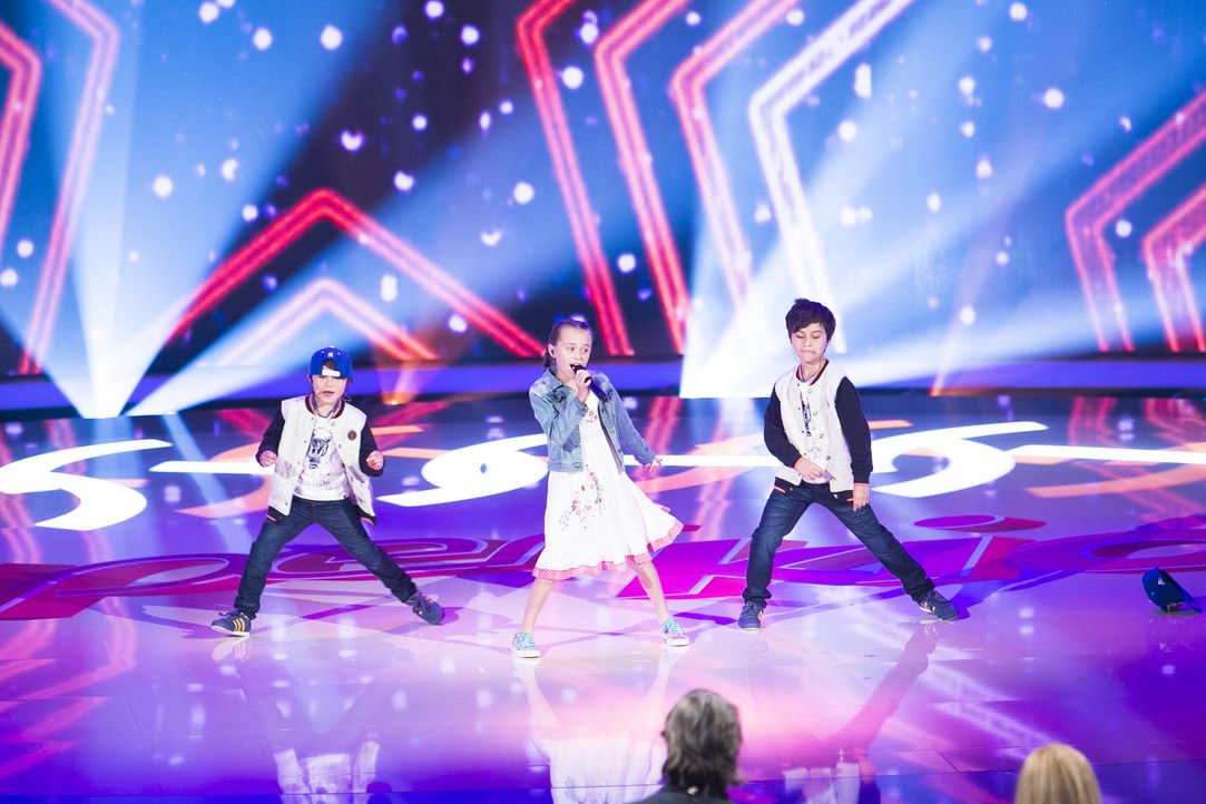 """Die """"Kids of Leo"""" aus Sydney wollen mit ihrem Gesangs-Auftritt überzeugen ... - Bildquelle: Benedikt Müller SAT.1"""