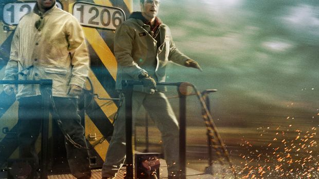 Lokführer-Veteran Frank Barnes (Denzel Washington, l.) und sein junger Kolleg...