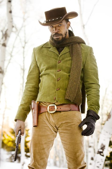 Bleibt auch nach seiner Freilassung weiter an der Seite von Dr. Schultz und macht den bösen Buben das Leben schwer: Django (Jamie Foxx) ... - Bildquelle: 2012 Columbia Pictures Industries, Inc.  All Rights Reserved.