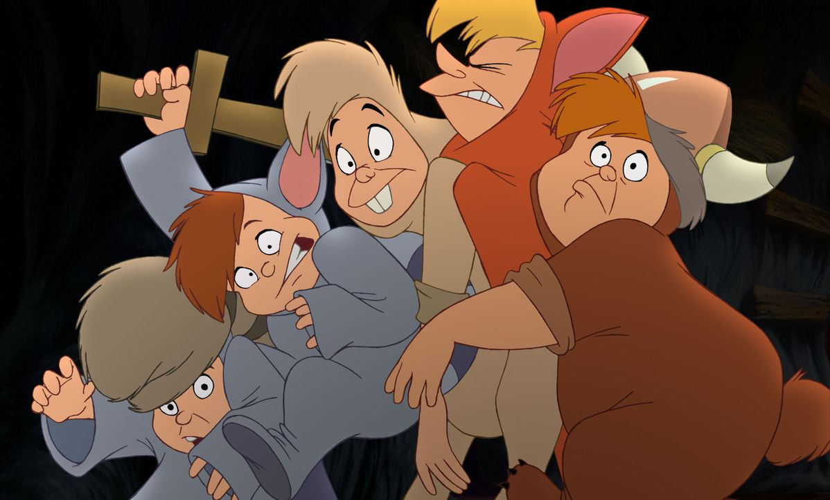 Jane kann den permanenten Albernheiten der Verwunschenen Jungen gar nichts abgewinnen. Sie bedrängt Peter, sie endlich nach Hause zu bringen ... - Bildquelle: Disney