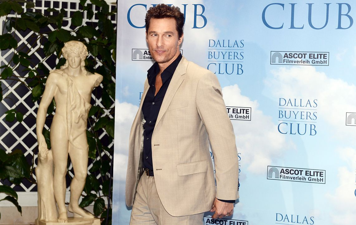 Matthew-McConaughey-Dallas-Buyers-Club-Photocall-140131-3-dpa - Bildquelle: dpa