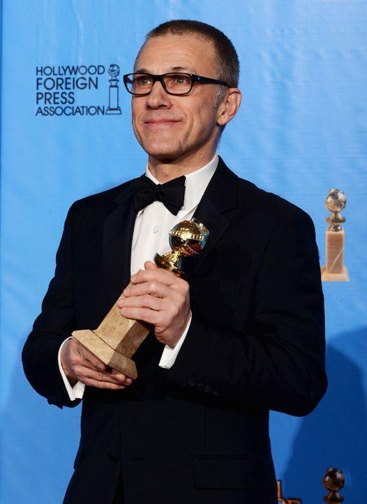 Christoph Walz bei den Golden Globes 2013 - Bildquelle: AFP