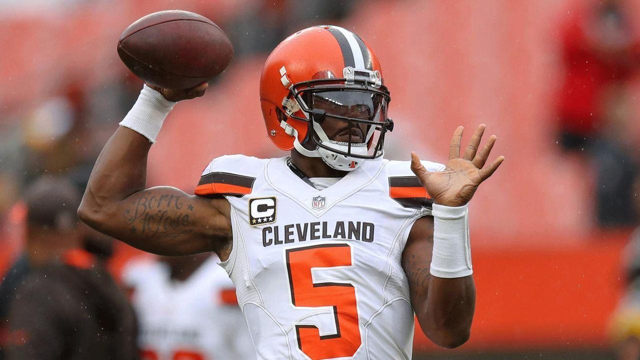 Tyrod Taylor (Cleveland Browns, 16 Mio. Dollar Gehalt) - Bildquelle: Imago