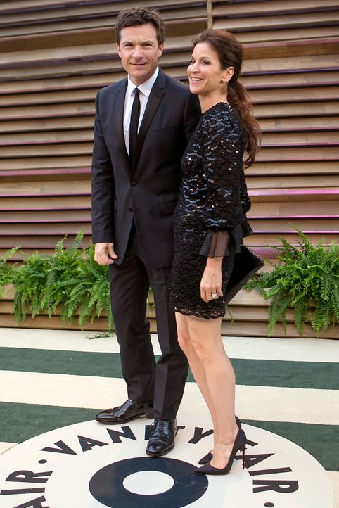 Oscars-Vanity-Fair-Party-Jason-Bateman-Amanda-Anka-140302-AFP - Bildquelle: AFP