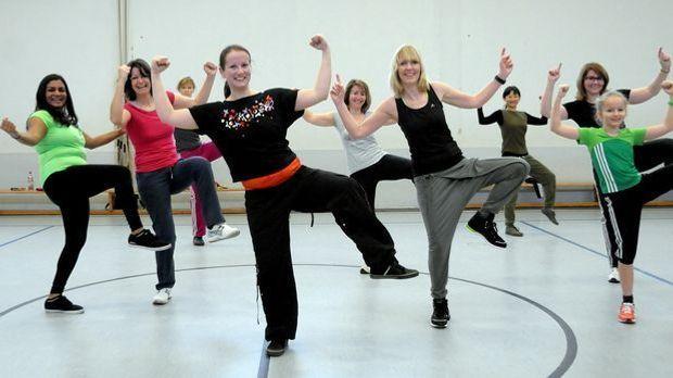 Bokwa Frauen Fitness_dpa - Bildfunk