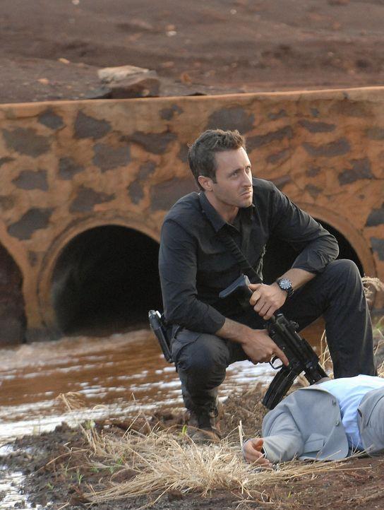 Ein neuer Mordfall beschäftigt Steve (Alex O'Loughlin) und sein Team ... - Bildquelle: TM &   2010 CBS Studios Inc. All Rights Reserved.