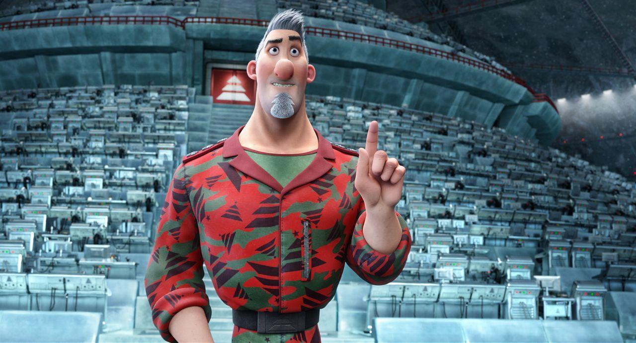 Es gibt Ärger in der Familie Weihnachtsmann: Der Weihnachtsmann merkt nicht, wie sein ältester Sohn Steve beginnt, das Familienunternehmen an sich z... - Bildquelle: 2011 Sony Pictures Animation Inc. All Rights Reserved.