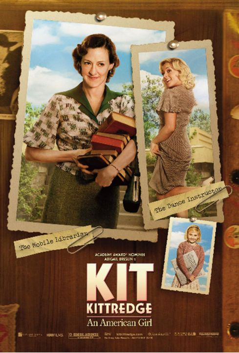KIT KITTREDGE - mit Joan Cusack (l.) und Jane Krakowski (r.) - Bildquelle: Warner Brothers