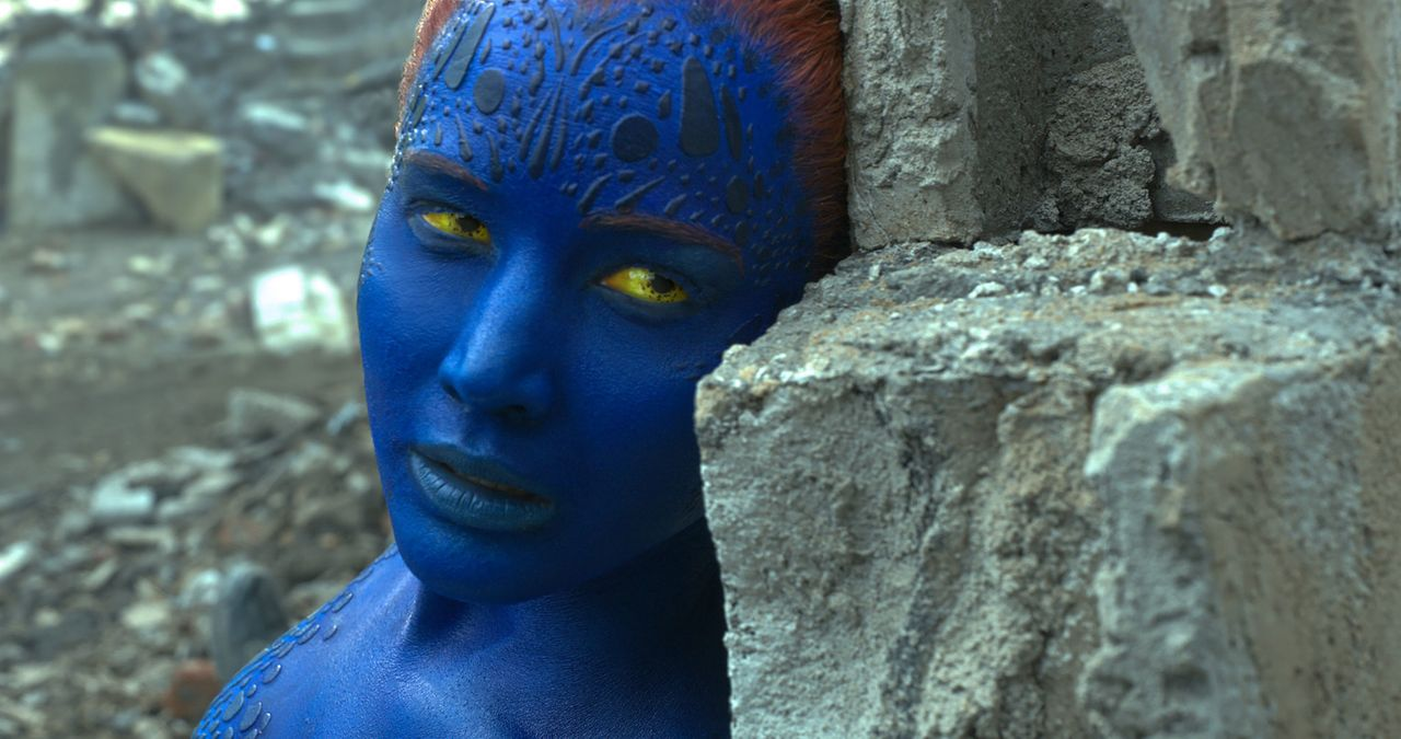 Setzt sich für andere Mutanten und die Menschen ein: Raven alias Mystique (Jennifer Lawrence) ... - Bildquelle: 2016 Twentieth Century Fox Film Corporation.  All rights reserved.  MARVEL TM &   2016 MARVEL & Subs.