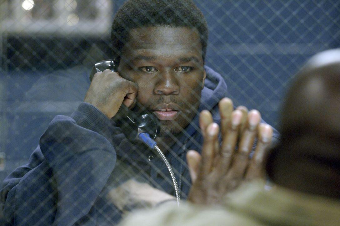 Gerade noch einmal dem Tod von der Schüppe gesprungen, beschließt fasst Marcus (50 Cent), seinen Traum vom Rapper wahr werden zu lassen ... - Bildquelle: 2005 by PARAMOUNT PICTURES. All Rights Reserved.