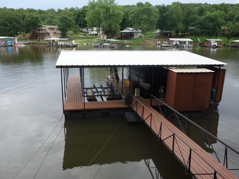 Pleasant Valley ist besonders für Herman ein echtes Goldstück. Das Gelände eignet sich perfekt für seine Leidenschaft- den Booten ... - Bildquelle: 2015,HGTV/Scripps Networks, LLC. All Rights Reserved