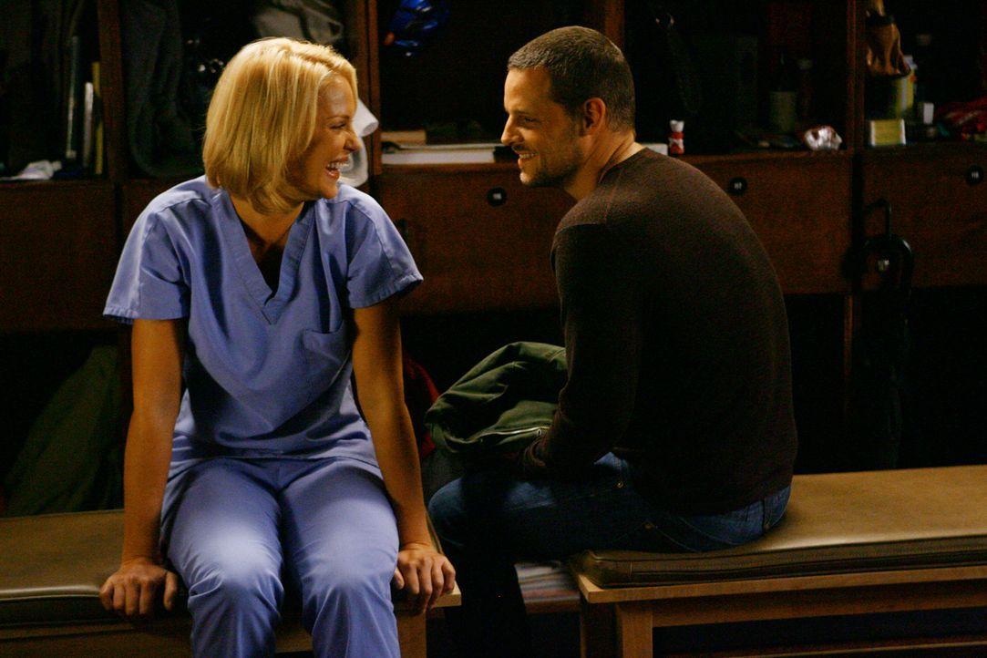 Izzie (Katherine Heigl, l.) ist fest davon überzeugt, mit den Erinnerungen an Denny abgeschlossen zu haben und schmiedet Pläne für einen gemeinsa... - Bildquelle: Touchstone Television