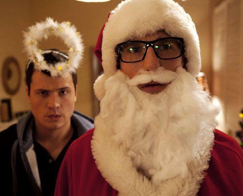 Hotte und Timo haben sich das Weihnachtsfest etwas anders vorgestellt ... - Bildquelle: David Saretzki - Sat1