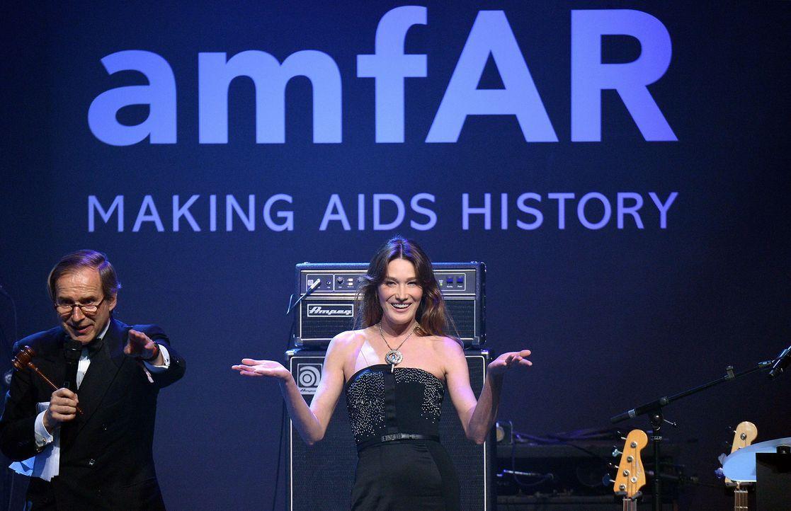 Cannes-Filmfestival-amfAR-Carla-Bruni-Sarkozy-140522-AFP - Bildquelle: AFP