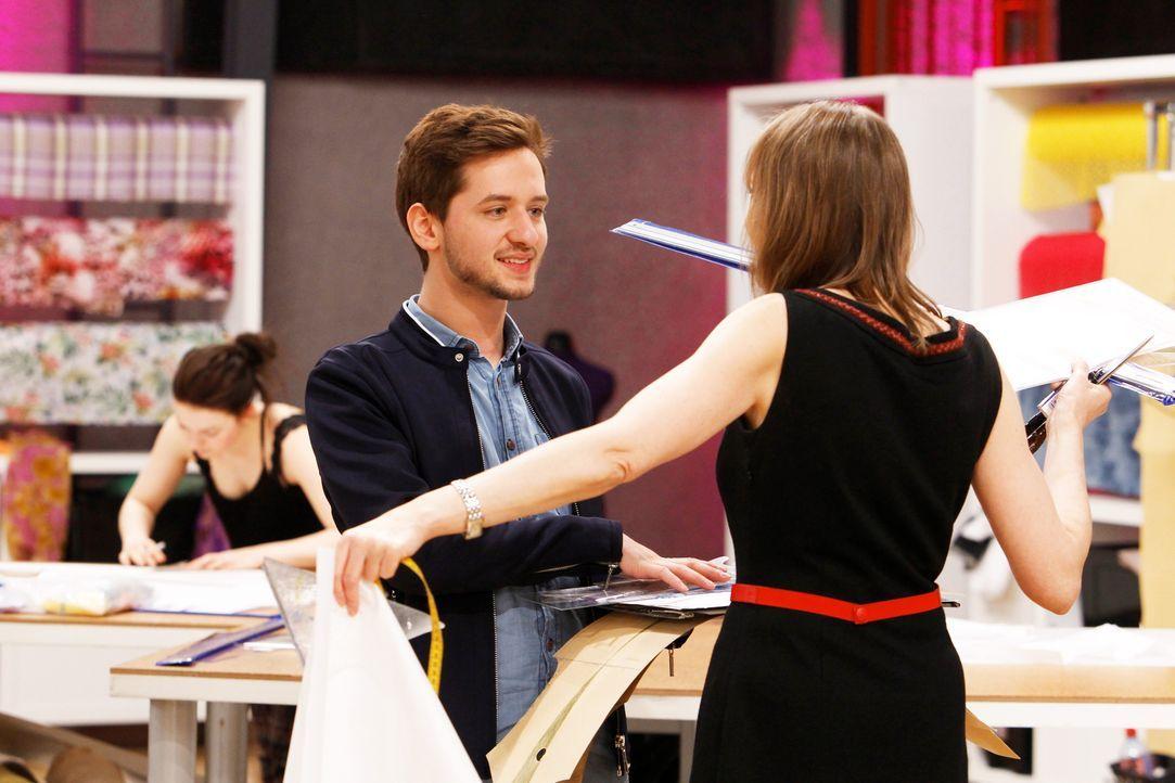 Fashion-Hero-Epi01-Atelier-17-ProSieben-Richard-Huebner - Bildquelle: ProSieben / Richard Huebner