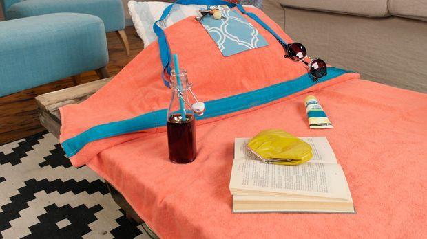 strandtuch tasche diy anleitung aus handmade mit enie. Black Bedroom Furniture Sets. Home Design Ideas