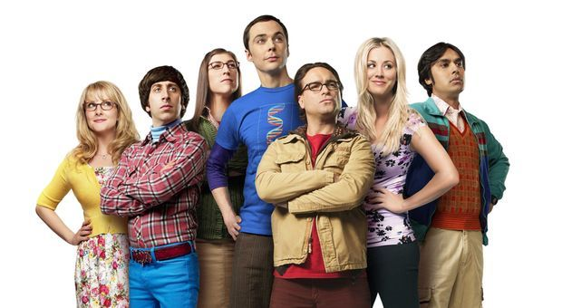 "Die Besetzung der Serie ""The Big Bang Theory"""
