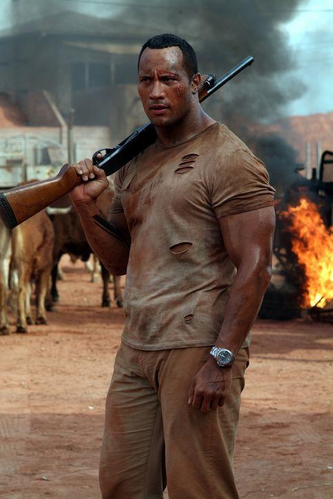 Bevor sich Beck (Dwyane Johnson) zur Ruhe setzen kann, muss er noch einen letzten Auftrag erfüllen, und der ist gar nicht so einfach ... - Bildquelle: 2004 Sony Pictures Television International. All Rights Reserved.
