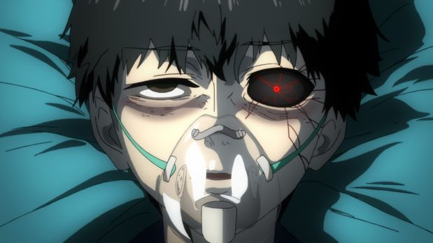 Tokyo Ghoul - Oberschüler Ken ist ein ganz normaler Junge, aber nach einem Da...
