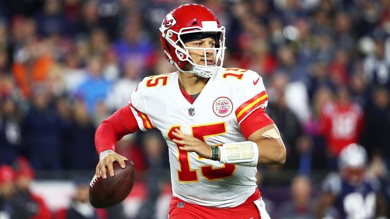 Quarterback: Patrick Mahomes (Kansas City Chiefs) - Bildquelle: Getty