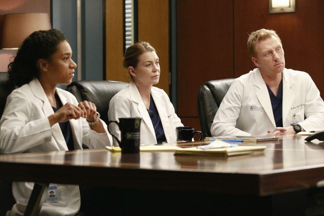 Da Bailey sich als Chefin und Ehefrau von Ben nicht in der Lage sieht, über die Konsequenzen von Bens Vorgehen zu entscheiden, beruft sie ein Komite... - Bildquelle: Mitch Haaseth ABC Studios