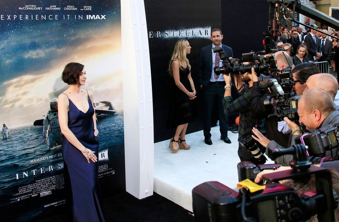 Interstellar-Premiere-LA-Anne-Hathaway-14-10-26-1-dpa - Bildquelle: dpa