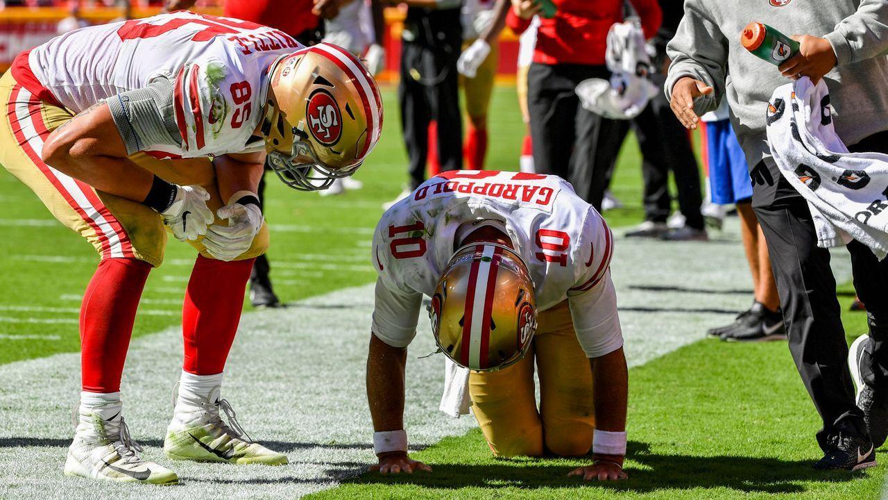 Jimmy Garoppolo (San Francisco 49ers) - Bildquelle: 2018 Getty Images
