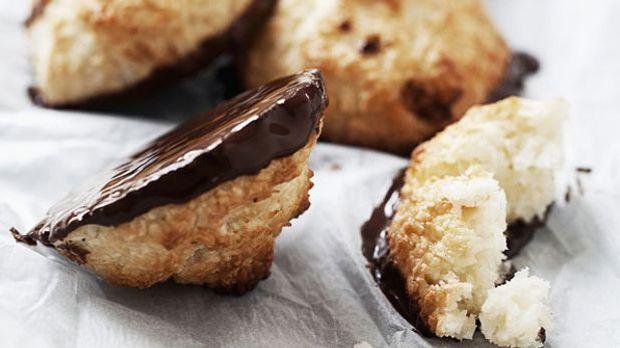 Kokosmakronen aus der Weihnachtsbäckerei