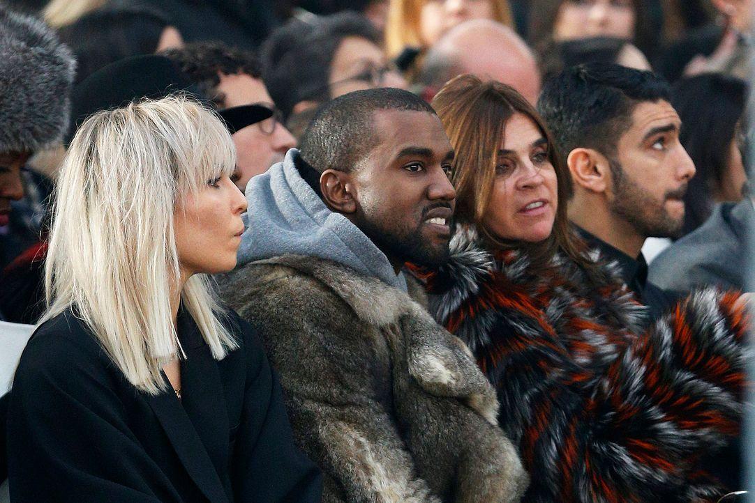 Paris-FW-Noomi-Rapace-Kanye-West-Carine-Roitfeld-Salim-Kechiouche-14-01-17-dpa - Bildquelle: dpa