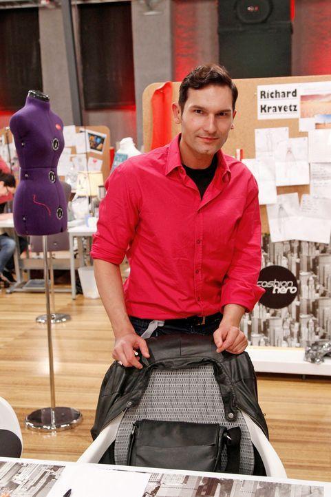 Fashion-Hero-Epi03-Atelier-04-Pro7-Richard-Huebner - Bildquelle: Richard Hübner / Pro 7