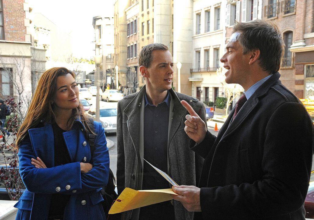 Gibbs und sein Team bekommen den Auftrag, die Tochter des Verteidigungsministers von Belgravien zu schützen. Doch wird es Ziva (Cote de Pablo, l.),... - Bildquelle: CBS Television