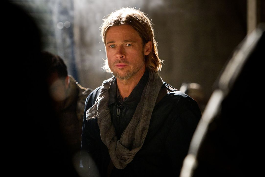 Wird der ehemalige UN-Mitarbeiter Gerry Lane (Brad Pitt) die Schwachstelle des Virus finden? - Bildquelle: 2013 Paramount Pictures.  All Rights Reserved.