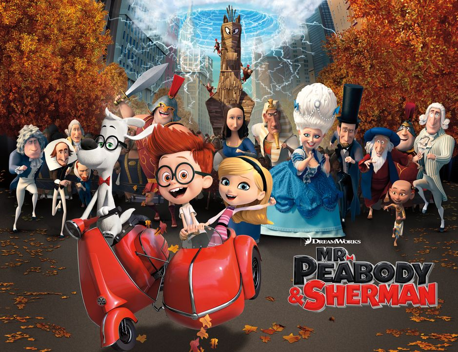 DIE ABENTEUER VON MR. PEABODY & SHERMAN - Artwork - Bildquelle: 2014 DreamWorks Animation, L.L.C.  All rights reserved.