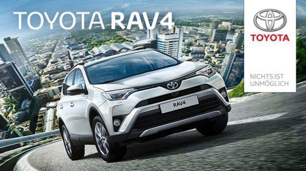 Toyota RAV4 Hybrid Teaser Groß