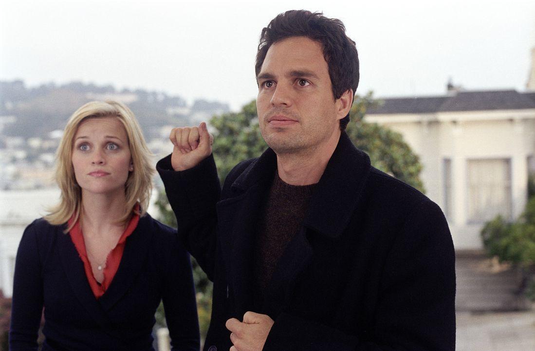 Es wartet eine Zeit voller Überraschungen auf Elizabeth Masterson (Reese Witherspoon, l.) und David Abbott (Mark Ruffalo, r.) ... - Bildquelle: Telepool GmbH