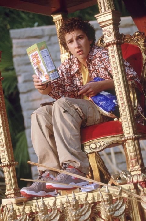 Zunächst ist Louis (Shia LaBeouf) überglücklich, den Traumurlaub auf dem paradiesischen Eiland gewonnen zu haben. Doch schon bald scheint ihn und... - Bildquelle: The Disney Channel