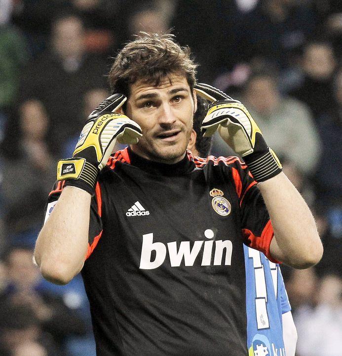 Iker-Casillas-13-01-06-dpa - Bildquelle: dpa