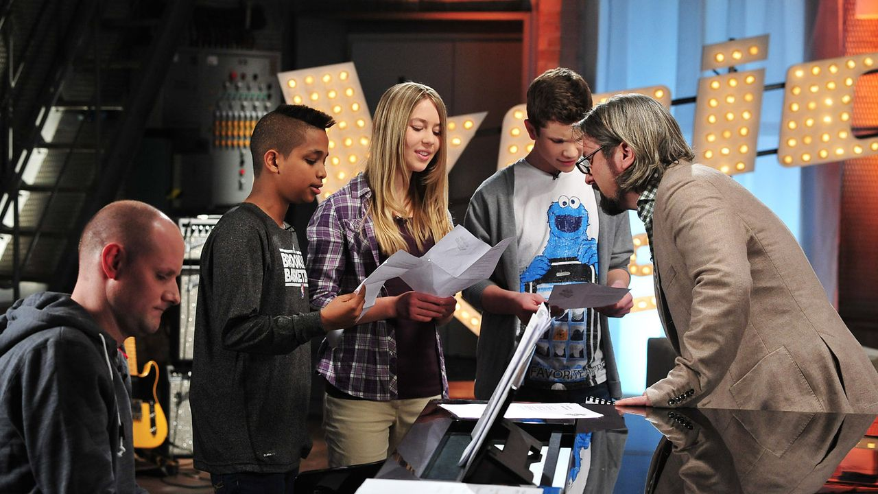 The-Voice-Kids-Stf02-Epi05-Danyiom-Lukas-Michele-2-SAT1-Andre-Kowalski - Bildquelle: SAT.1/Andre Kowalski