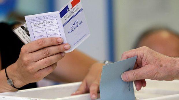 Finalrunde der Parlamentswahl in Frankreich